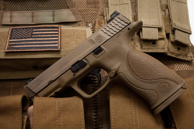 Army Rejects Smith & Wesson M&P From Pistol Competition