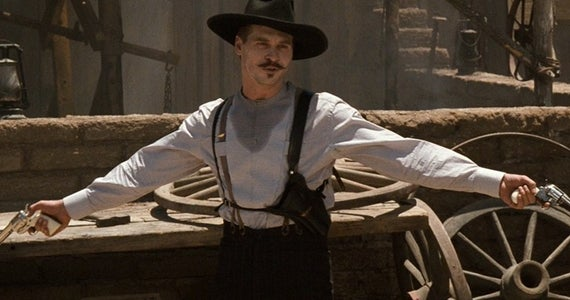 Played by Val Kilmer in *Tombstone*