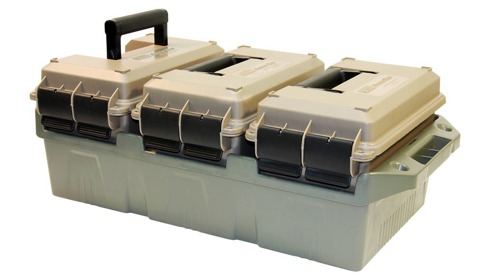MTM Case-Guard 3-Can Ammo Crate