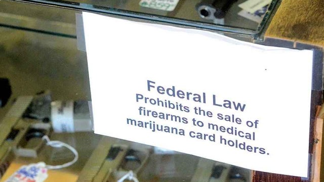 Feds Say People with Med Marijuana Cards Can't Buy Guns