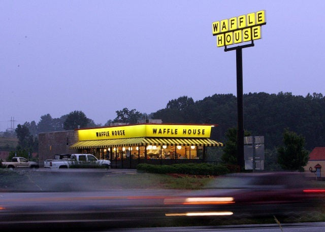 Waffle House Patron Shoots Robber Armed With AK-47