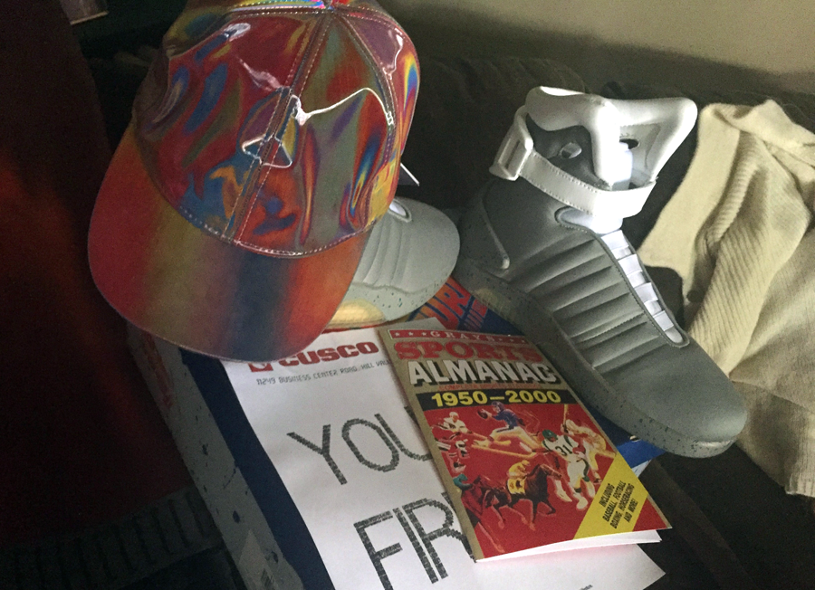 The author's BTTF2 Marty costume.