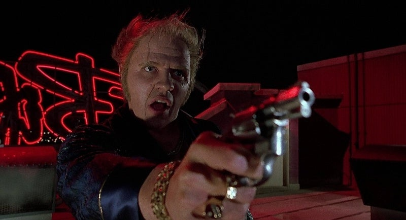 Alternate reality 1985 Biff with his S&W Model 60.