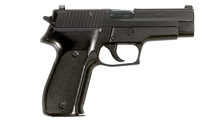 The last time the FBI issued 9mm pistols, they were the SIG Sauer P226 like this one.