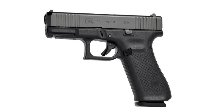 The profile of the new Glock 45.