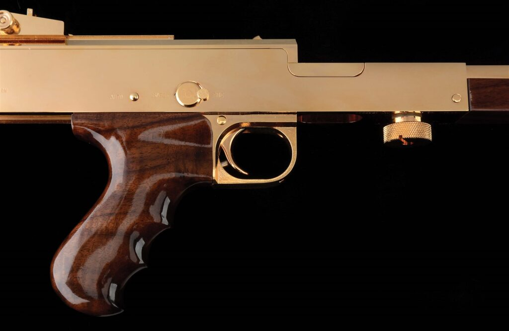 A close up of the receiver. The American 180 was made in the 1960s.