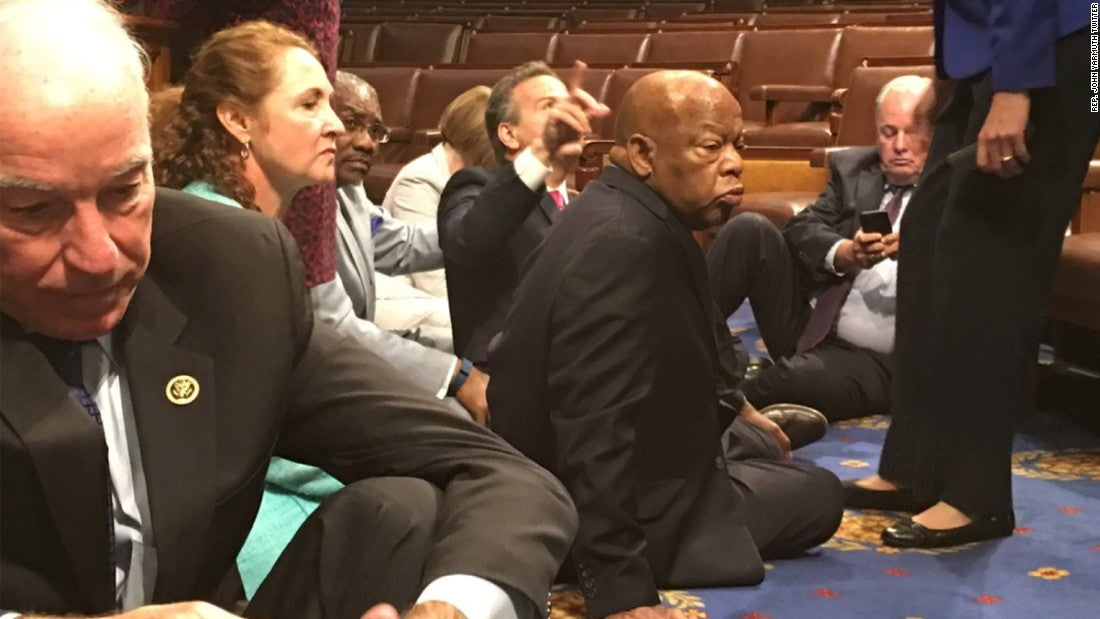 House Dems May Face Penalties For Gun Vote Sit-In