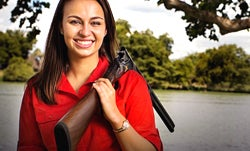 College Student Spreading the Joy of Shooting