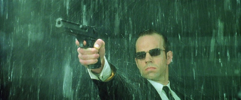 The Agents famously used IMI Desert Eagle Mark XIX pistols throughout