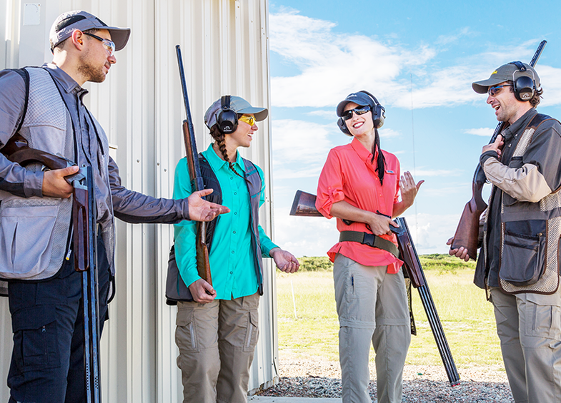 Most New Female Shooters Learn From Men