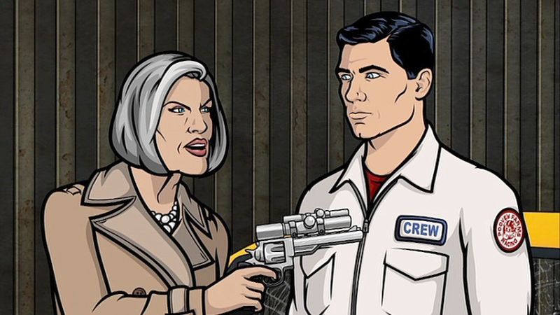 Mallory Archer and her Smith & Wesson Model 629.