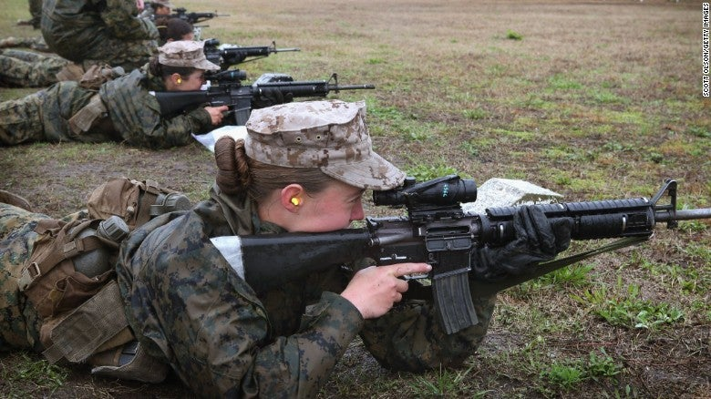 More Women Coming to Combat Roles in Military