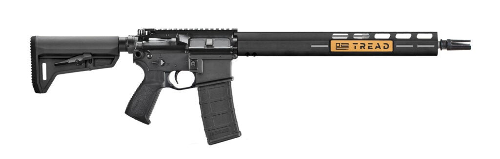 The right profile of the new SIG Sauer TREAD rifle.