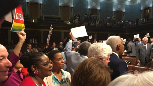 House Sit-In by Democrats Fails to Force Gun Control Vote