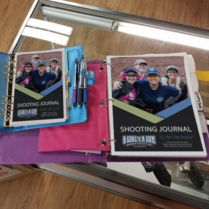 The 2019 Shooter's Journal is available for free download to A Girl & A Gun members from the organization's website.