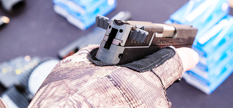 Coming to the Range: Taurus TCP .380 with Wings