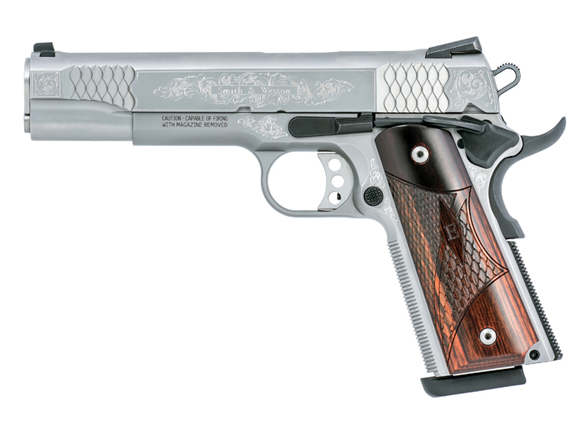 Coming to the Range: Smith & Wesson Engraved 1911