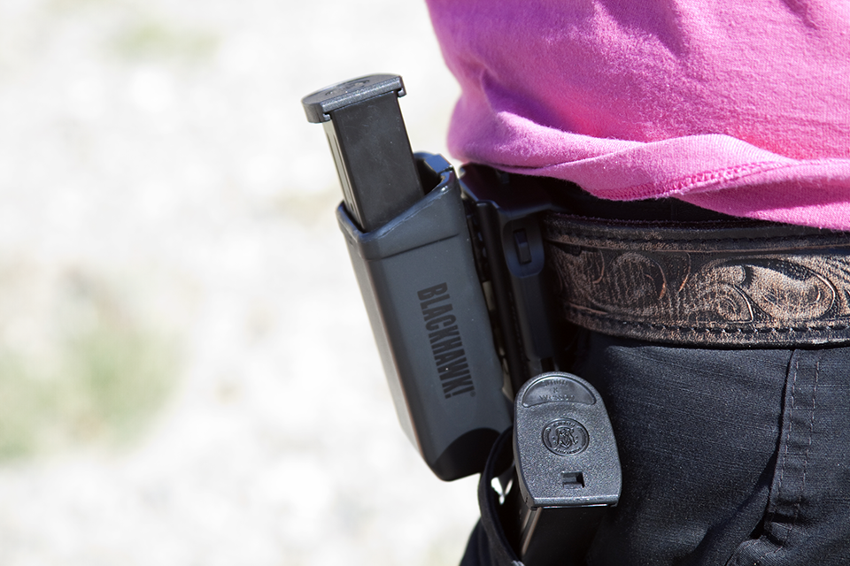 Blackhawk! makes a number of injection molded firearm holsters and accessories.