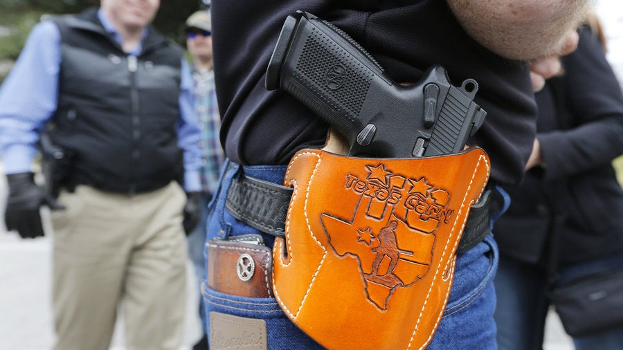 Texas Carry Permit Applications Have Nearly Tripled