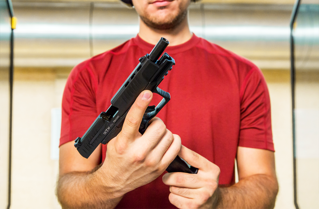 Handguns are a great example of the saying that size matters.