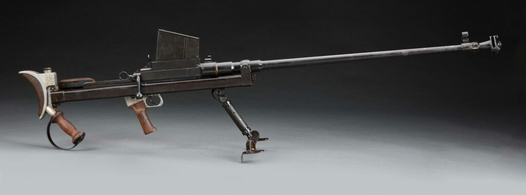 """The Boys Anti-Tank Rifle was called the """"elephant gun"""" because its 0.55-inch bore."""
