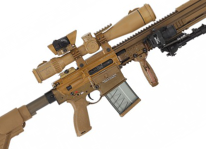 U.S. Army Replaces Sniper Rifle with H&K G28