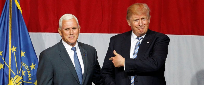 Where Trump VP Candidate Mike Pence Stands on Guns