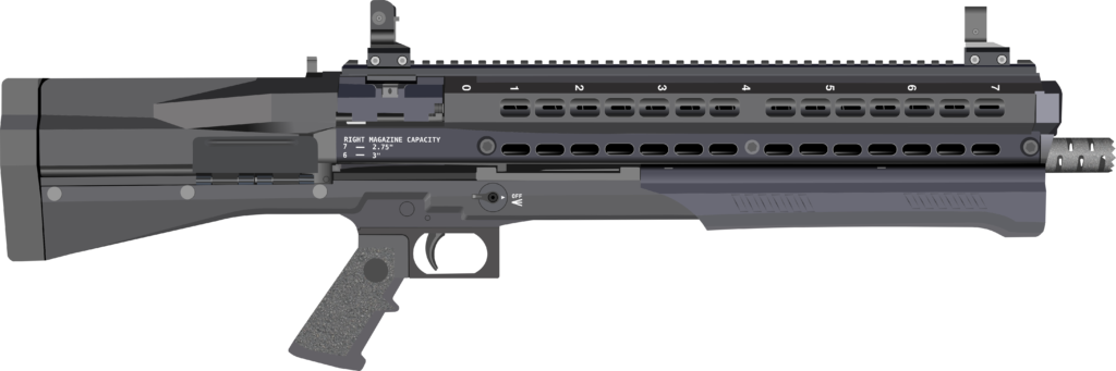 The basic UTAS UTS-15 shotgun.