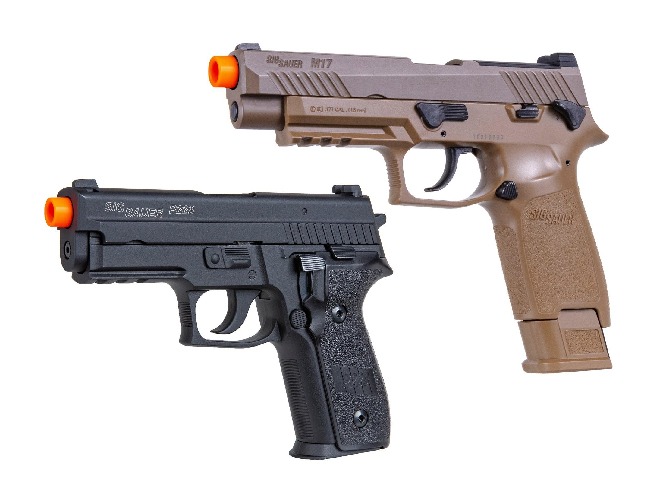 New SIG AIR ProForce Airsoft Guns Offer Realistic, Safe Training