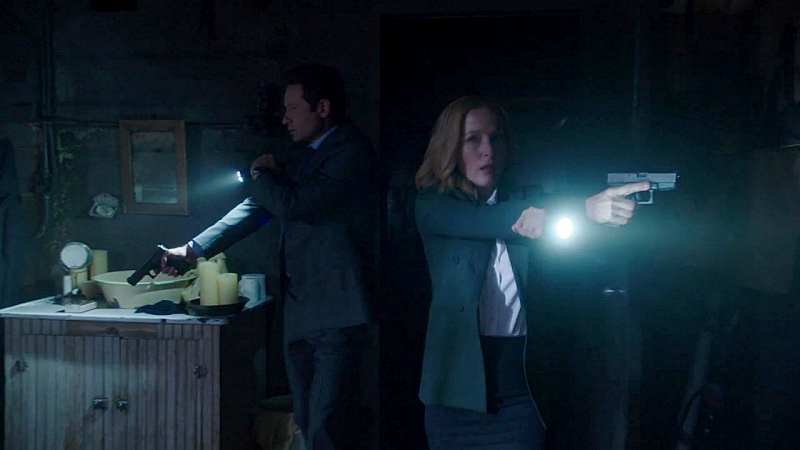 David Duchovny and Gillian Anderson reprise their roles as FBI agents Fox Mulder and Dana Scully in a new X-Files mini-series. The show went off the air in 2002.