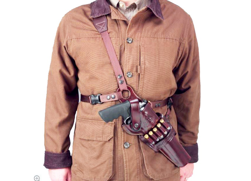 The Galco Gunleather Kodiak holster for large revolvers.