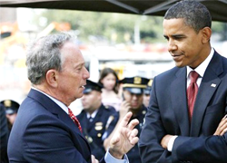 President Meets with Bloomberg to Discuss Gun Control