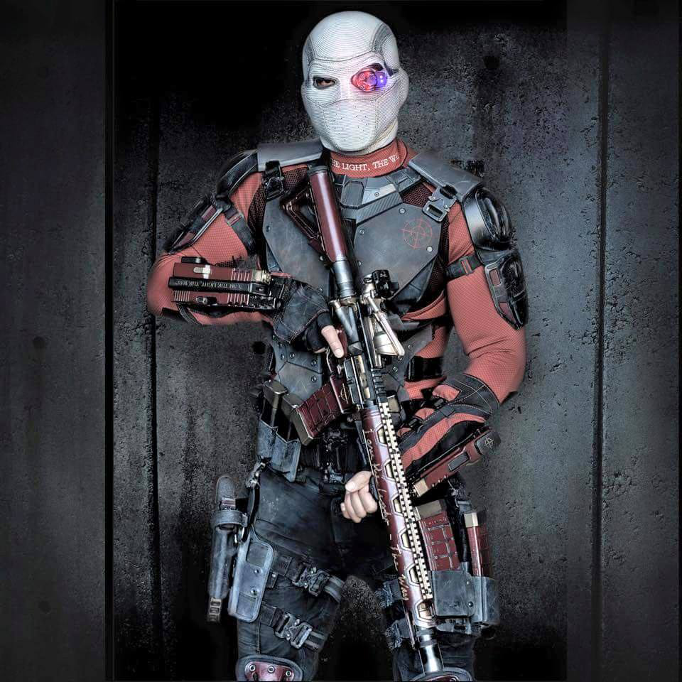 Deadshot with his highly customized AR-15.