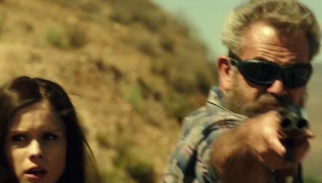 Mel Gibson as John Link in *Blood Father*, a new action movie that comes out on August 12.
