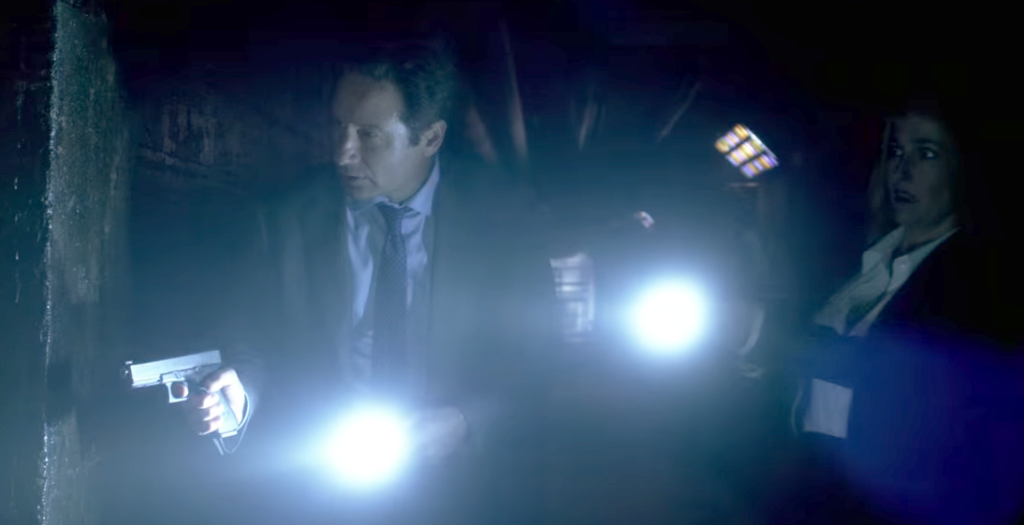 Mulder and Scully carry the Glock 17 and Glock 19. While FBI agents currently do carry Glocks, they carry the .40 S&W versions of the full-size and compact pistols.