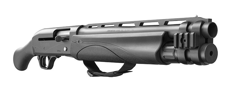 The TAC-13 holds five rounds of 2.75