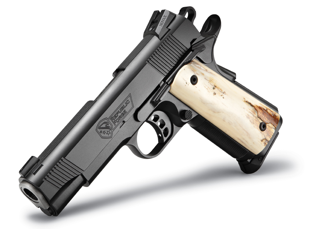 A Republic Forge Customized 1911.