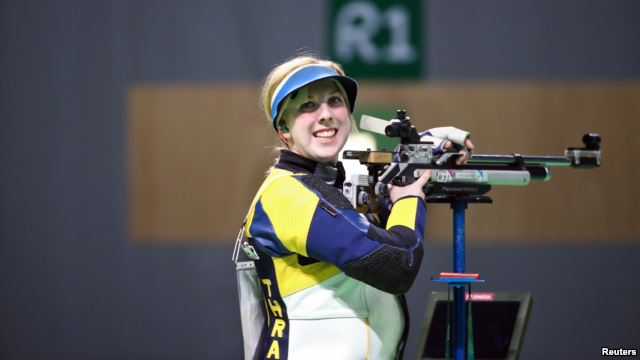 19-Year-Old Woman Takes Olympic Shooting Gold