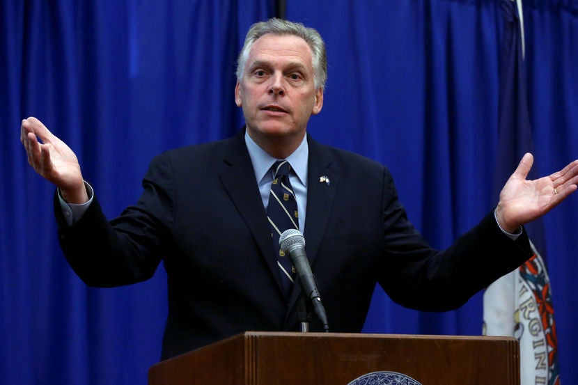 Virginia Gov.: Women Can't Protect Themselves
