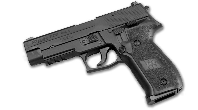 The P226 from Sig SAUER is an example of a SA/DA pistol.