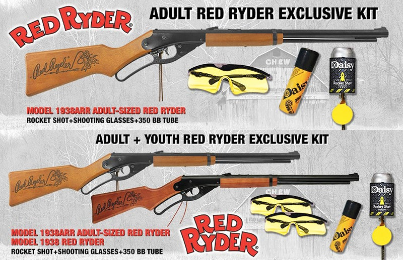 The original Red Ryder was introduced in 1938.