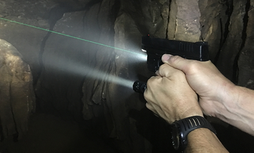 Shooting with a Flashlight