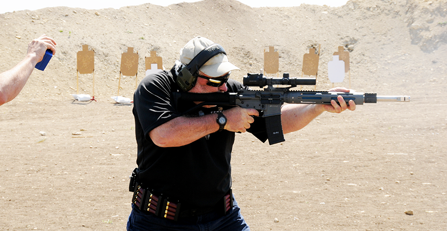 Competition shooting with your personal rifle makes for excellent training.