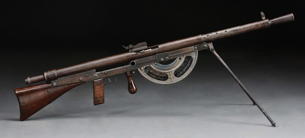 Chauchat Model 1915 never worked very well in the field.
