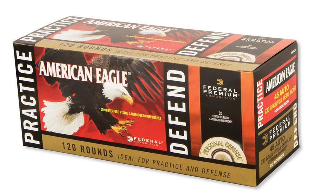 Ammo Test: Federal Premium HST Practice & Defend Combo Packs
