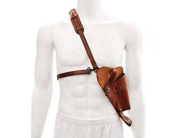 A modern reproduction of an M7 shoulder holster.