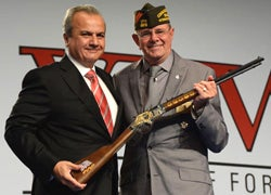 Henry Rifles Honors Vets at VFW Convention