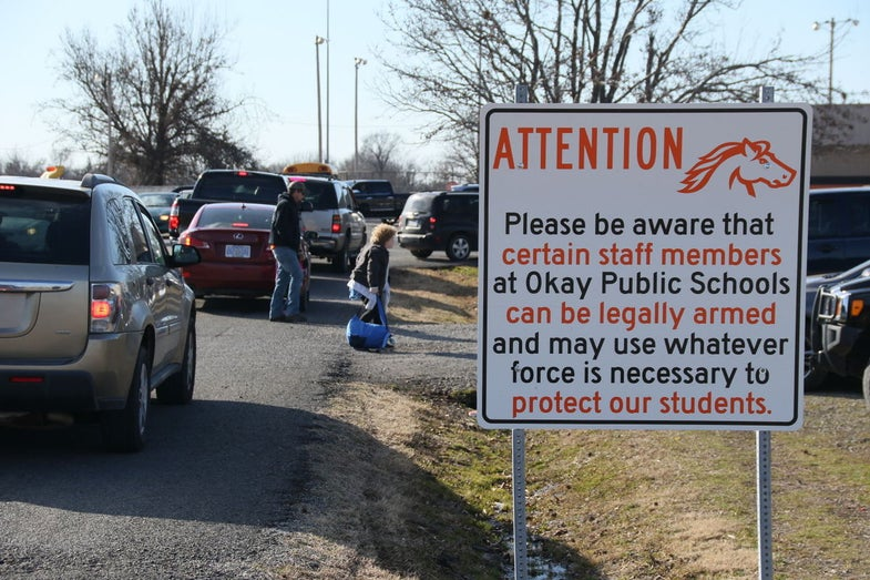 Oklahoma School: Our Employees May Be Armed