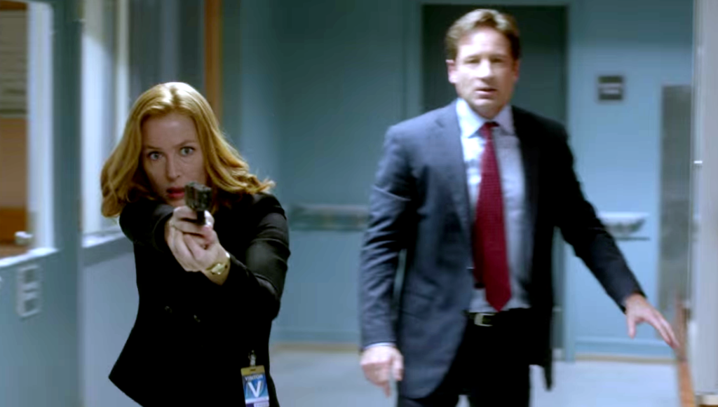 Scully carries a Glock 19 in 9mm in the new X-Files series.