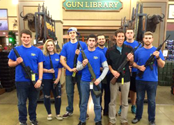 Student Gun Club Gets Support and Funds from University